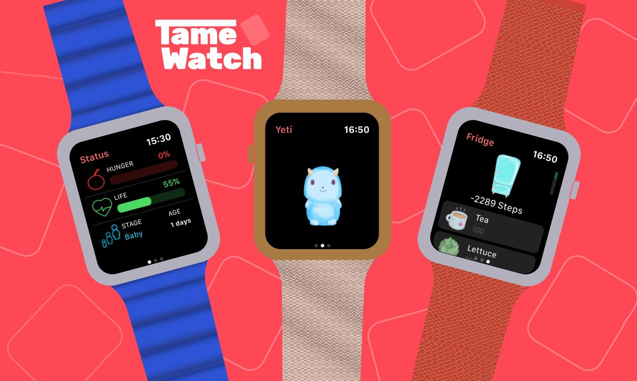 Jogo TameWatch para Apple Watch