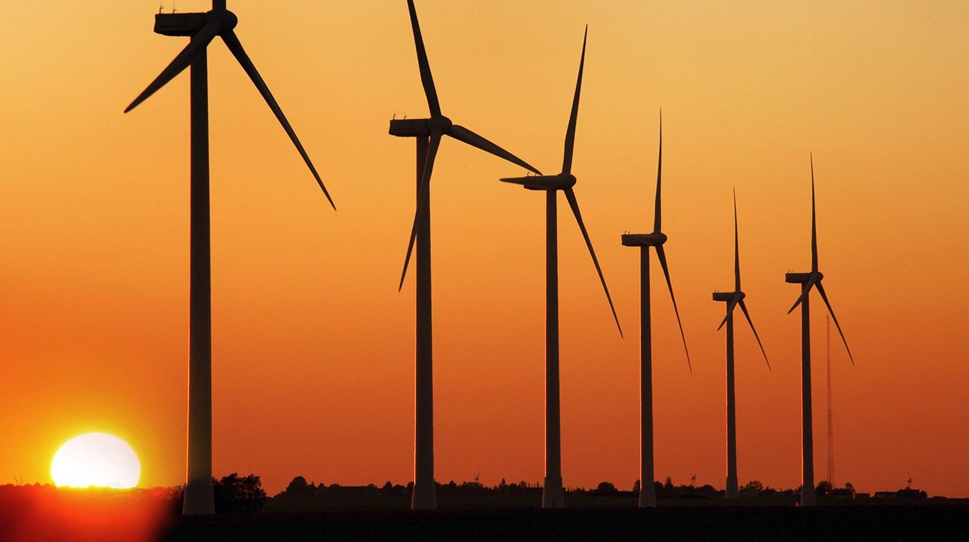 Fazenda de energia eólica
