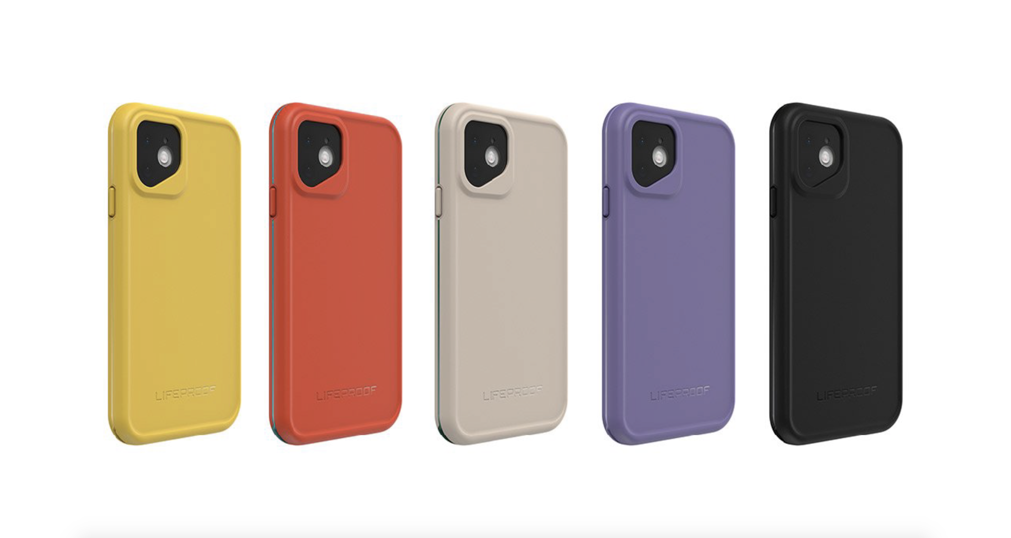 Cases da LifeProof para iPhones 11 e 11 Pro