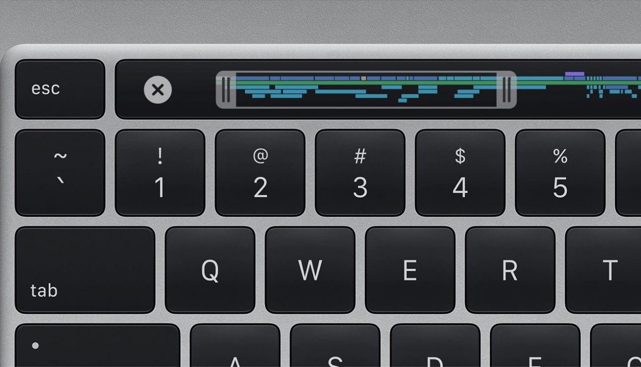 Enchanting keyboard on the new 16-inch MacBook Pro