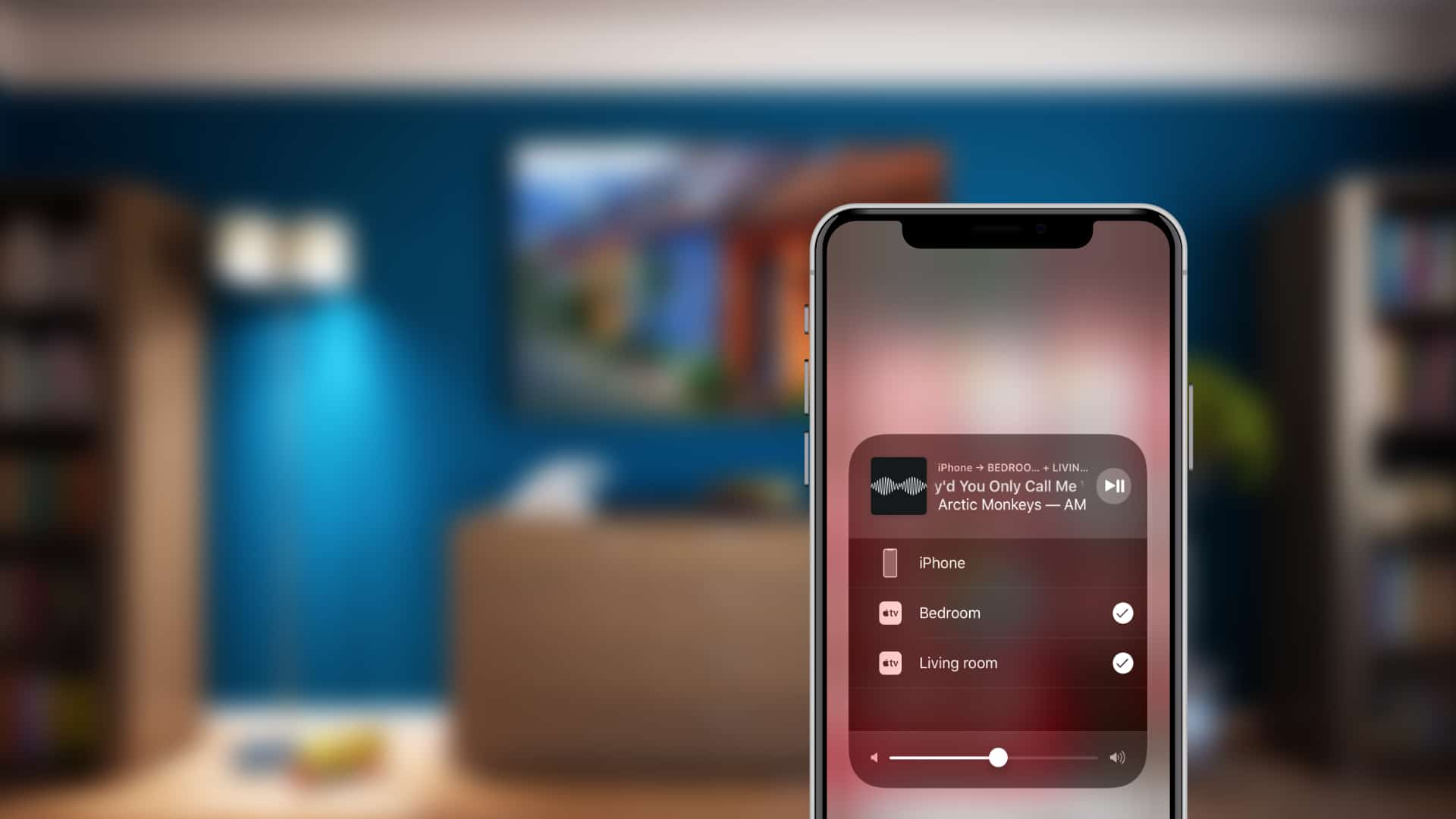 AirPlay no iPhone