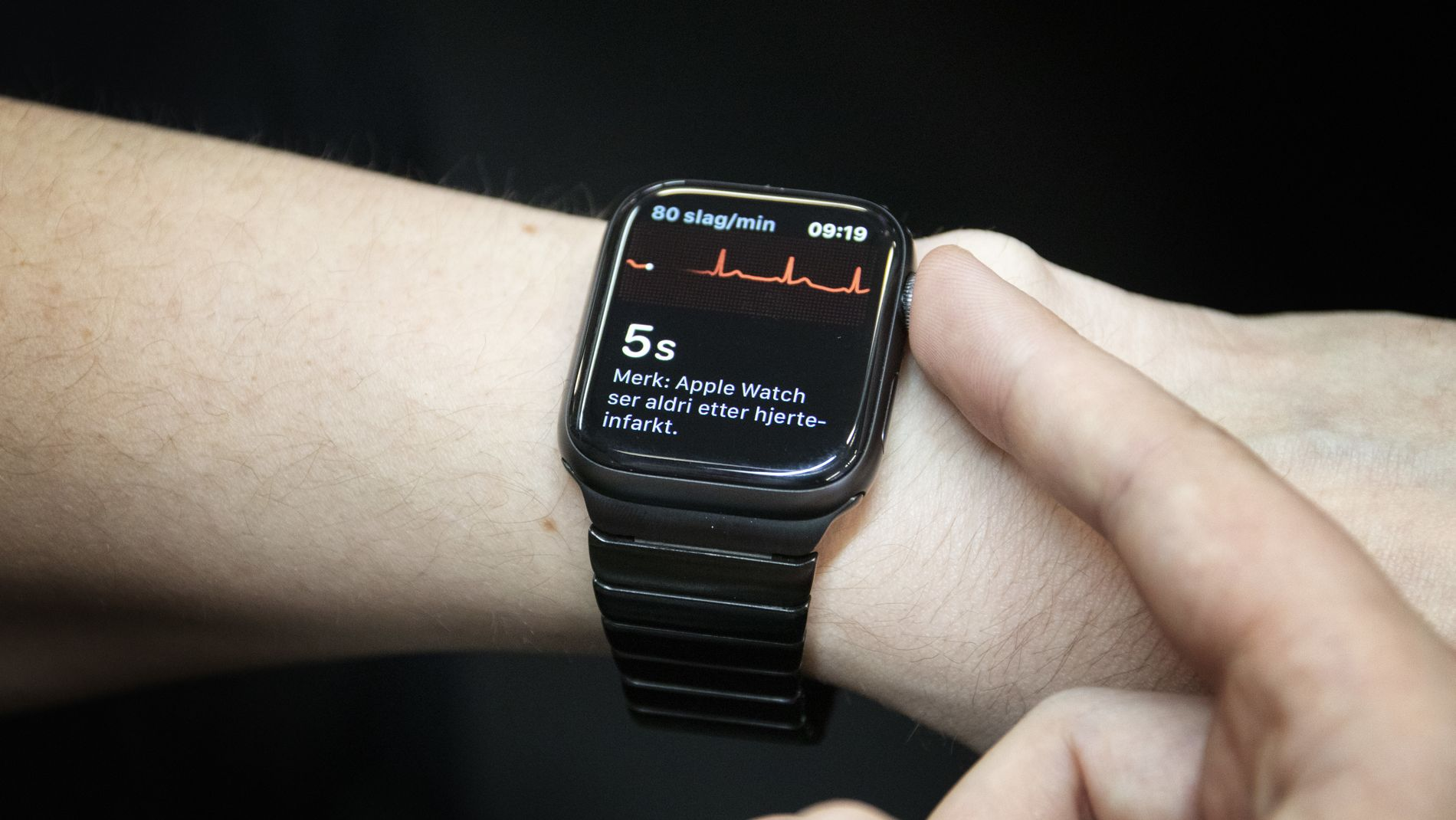 ECG no Apple Watch