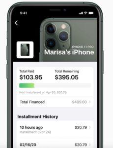 Parcelamento de iPhone pelo Apple Card