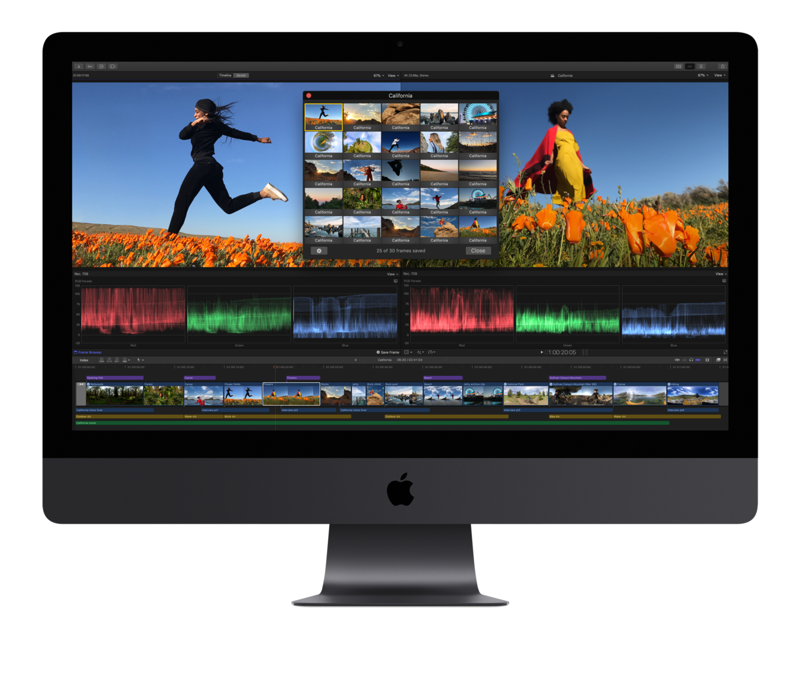Final Cut Pro no iMac Pro