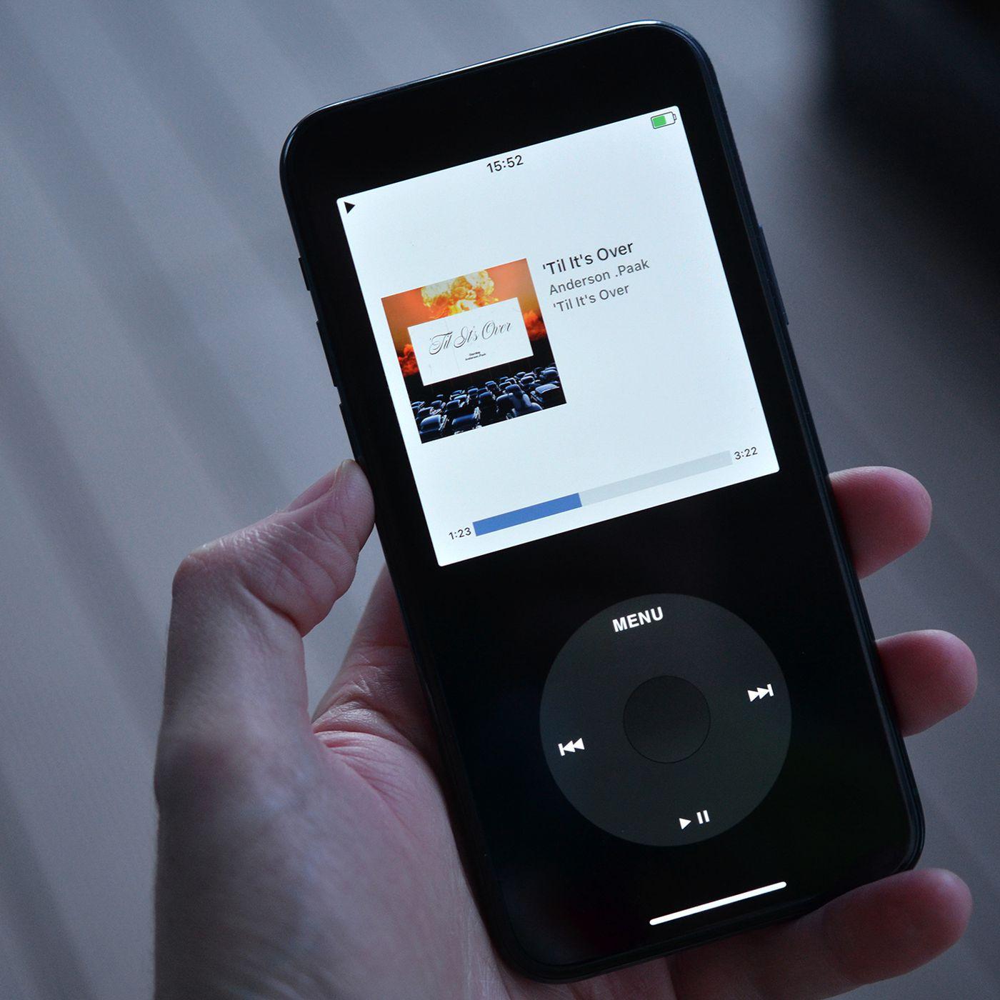 Rewound, aplicativo que transforma o iPhone num iPod