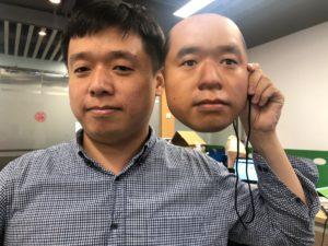 Máscara 3D usada para enganar sistemas de reconhecimento facial