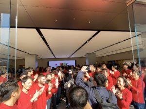 Inauguração da Apple Kawasaki