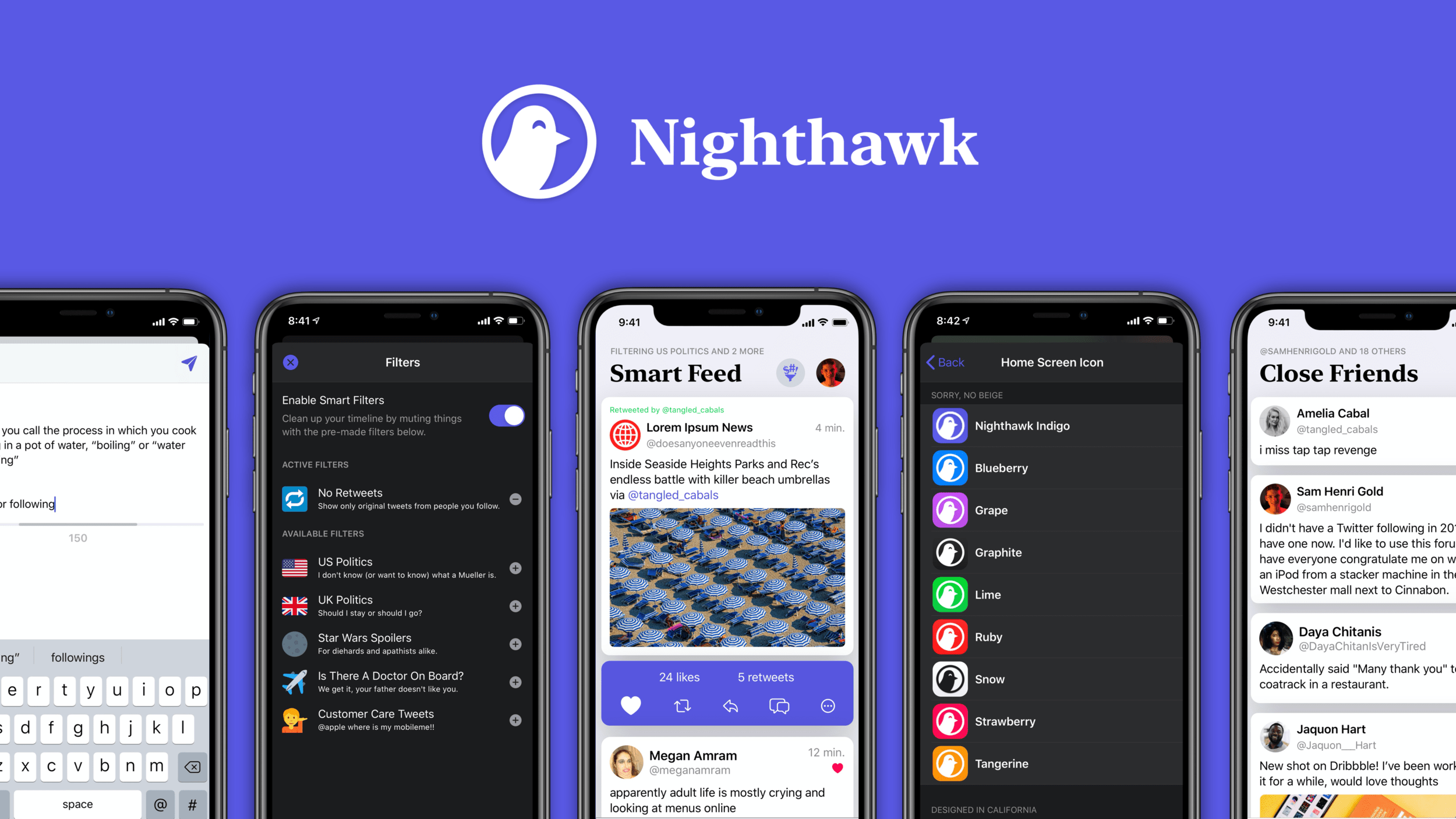 Banner do Nighthawk