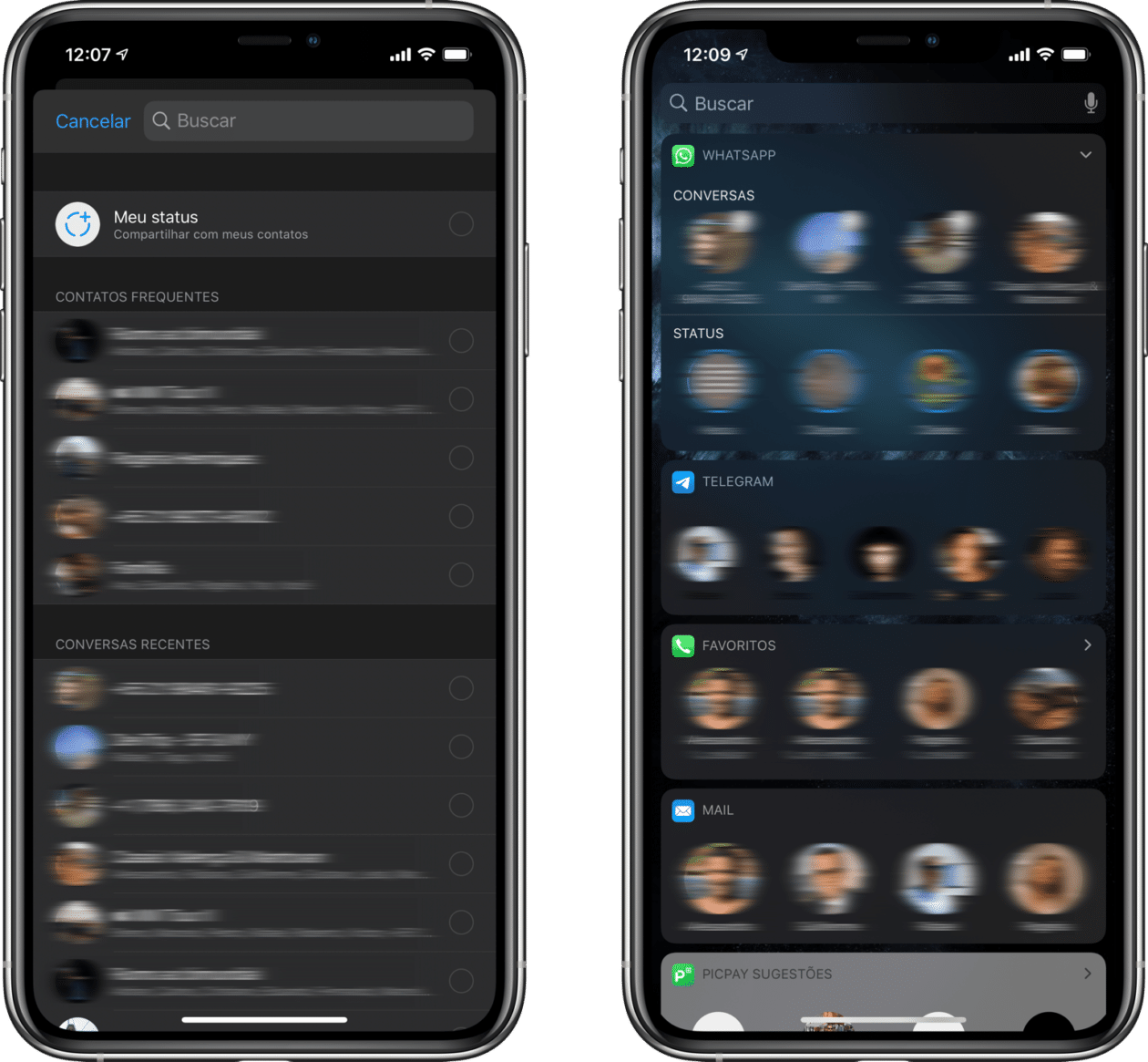 WhatsApp beta preparado para o iOS 13