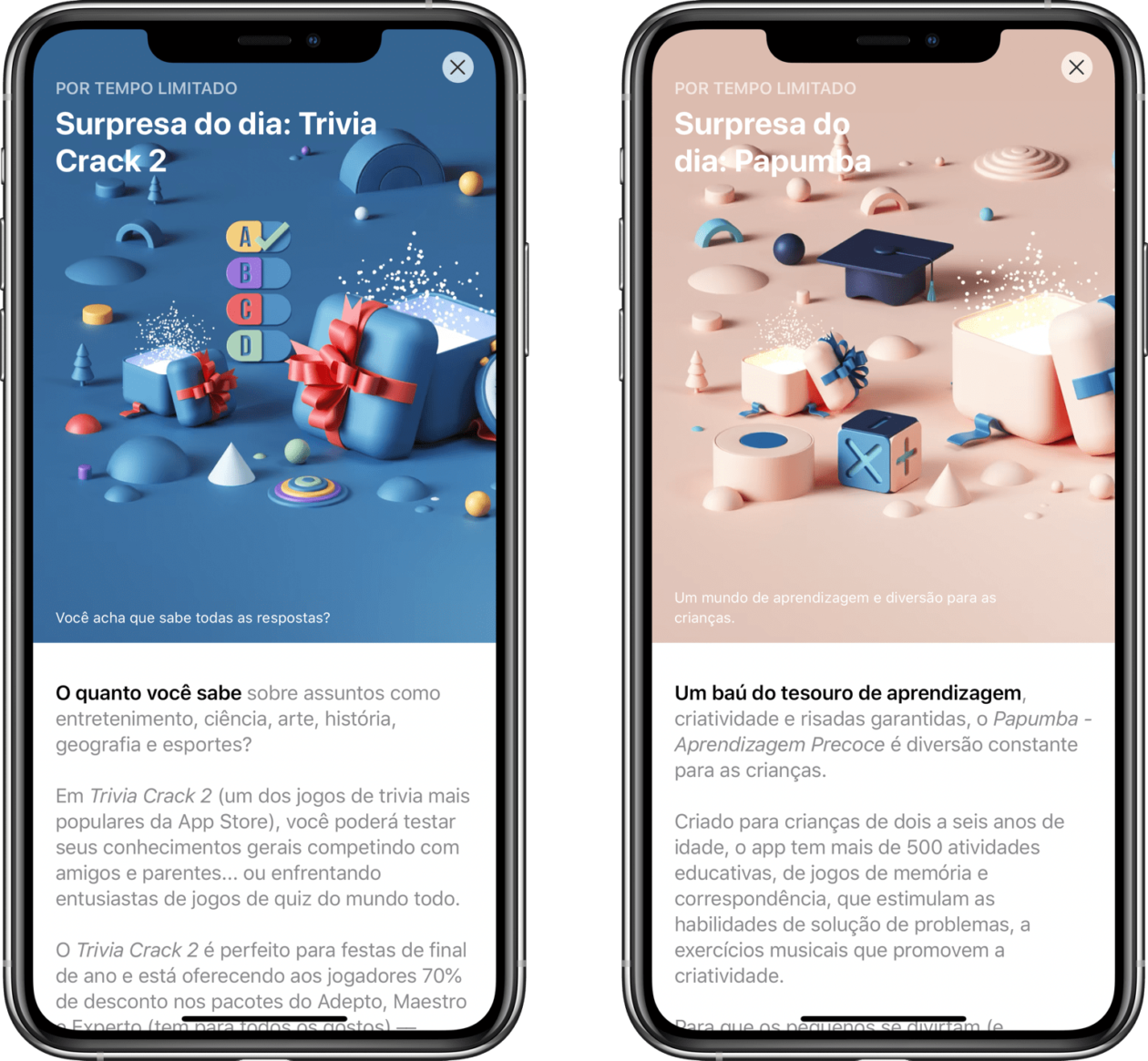 Surpresa do dia na App Store