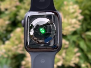 Sensor cardíaco do Apple Watch Series 4