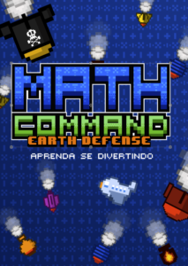 Jogo brasileiro Math Command: Earth Defense