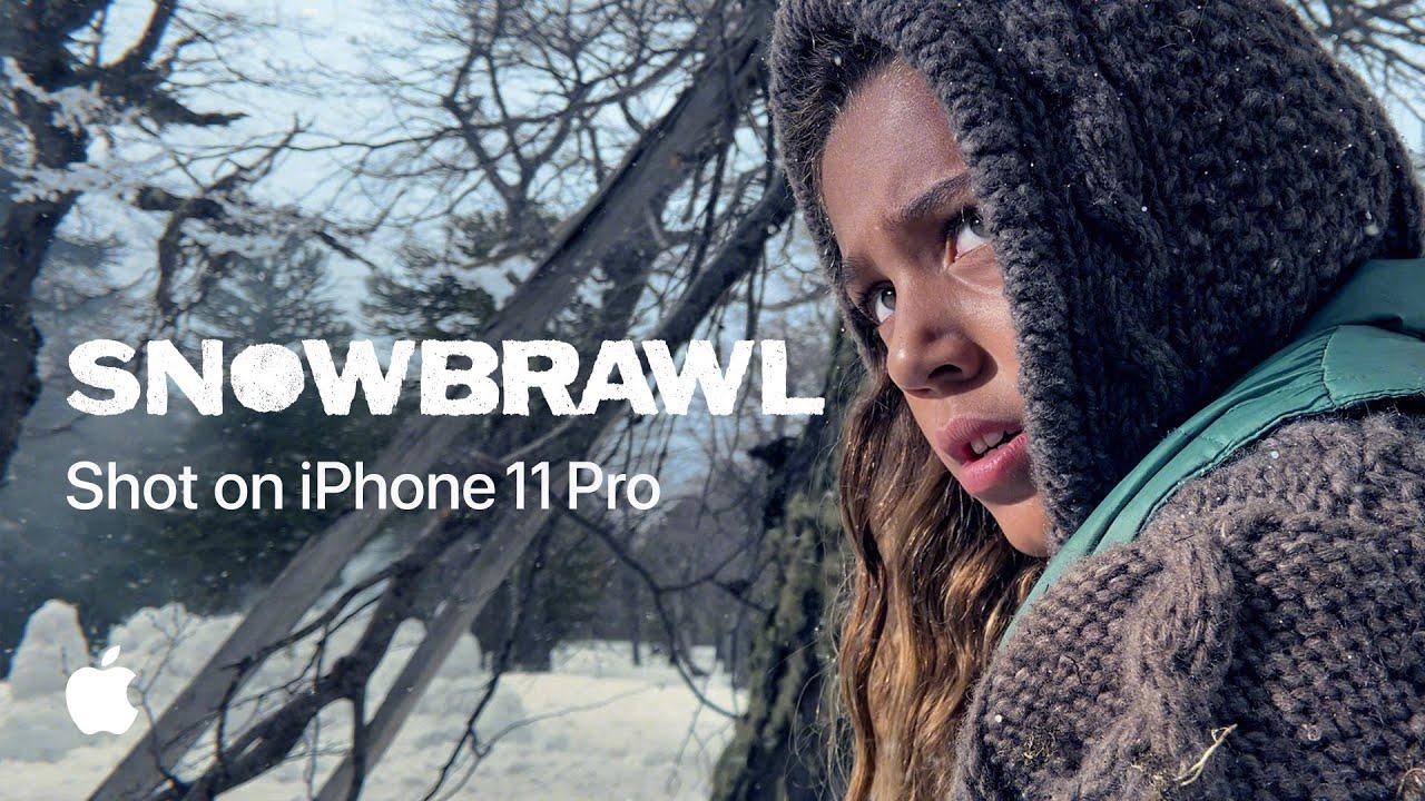 """""""Guerra na neve"""" é o foco do novo comercial da Apple filmado com o iPhone"""