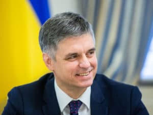 Vadym Prystaiko, ministro ucraniano