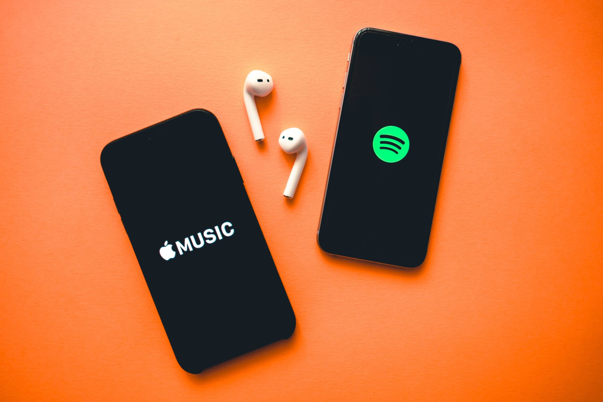 Apple Music, AirPods e Spotify
