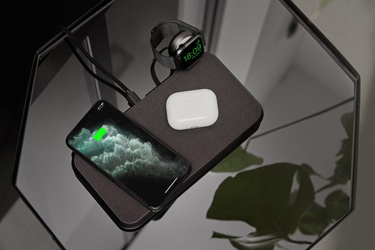 ZENS Liberty com carregador para Apple Watch