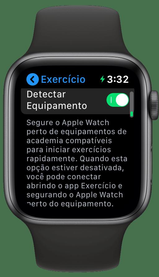 Sincronizar equipamento com o Apple Watch