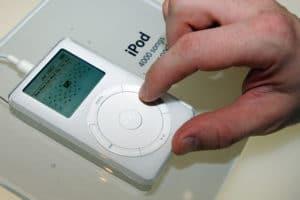 iPod em exposição