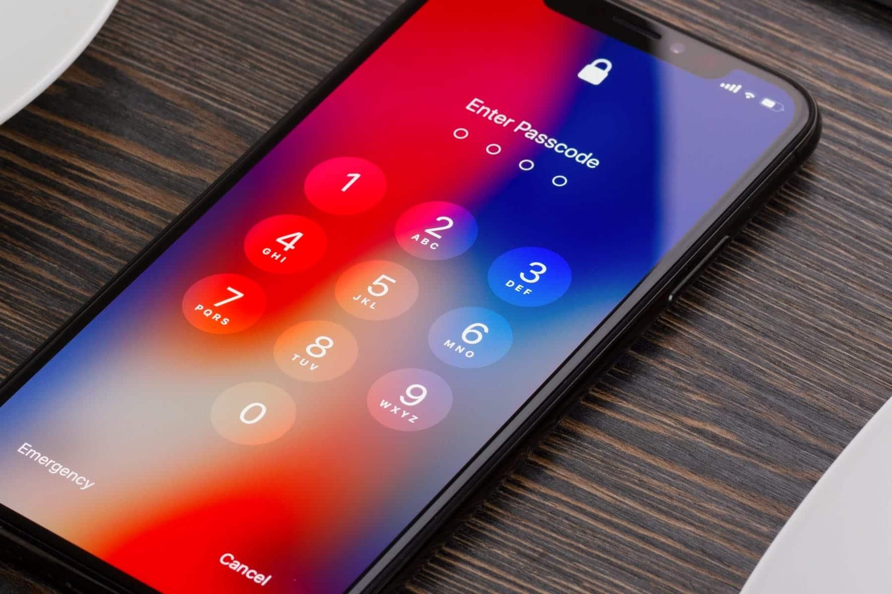 iPhone bloqueado por senha