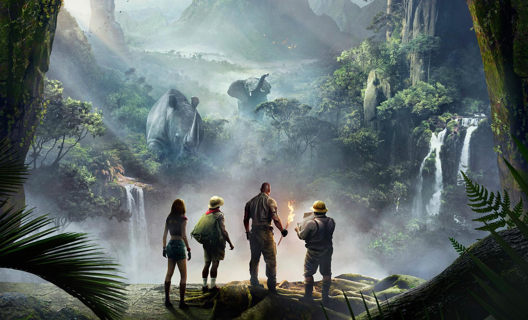 """Pôster do filme """"Jumanji: Bem-vindo à Selva!"""""""