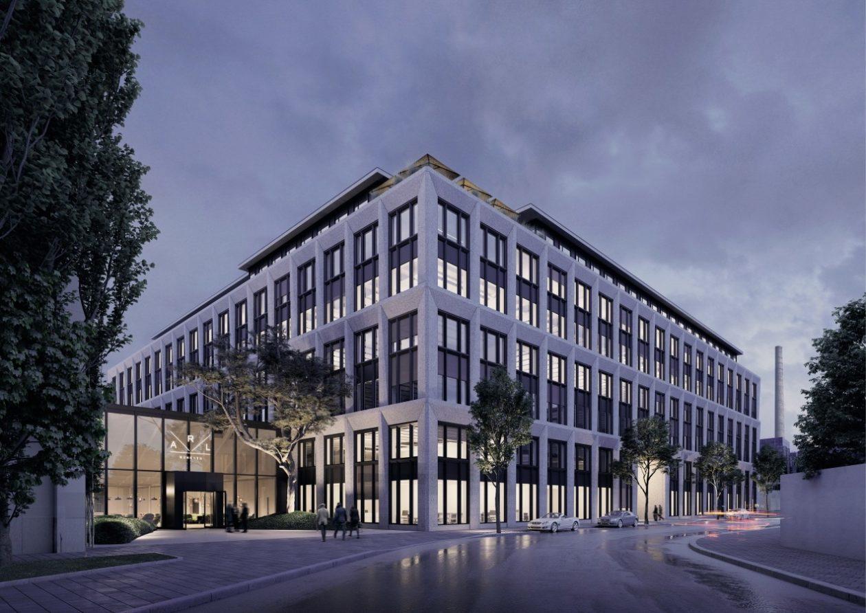 Futuro escritório da Apple em Munique, na Alemanha