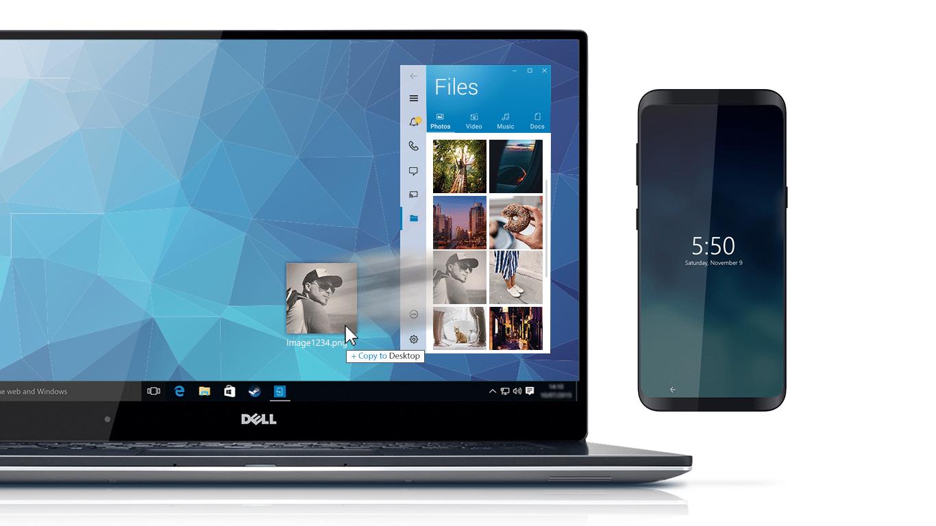 Software de sincronização Dell Mobile Connect