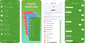 Dashboard for Apple Health App