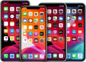 Suposta linha de iPhones para 2020