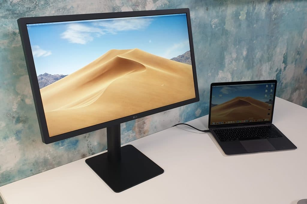 Monitor externo da LG