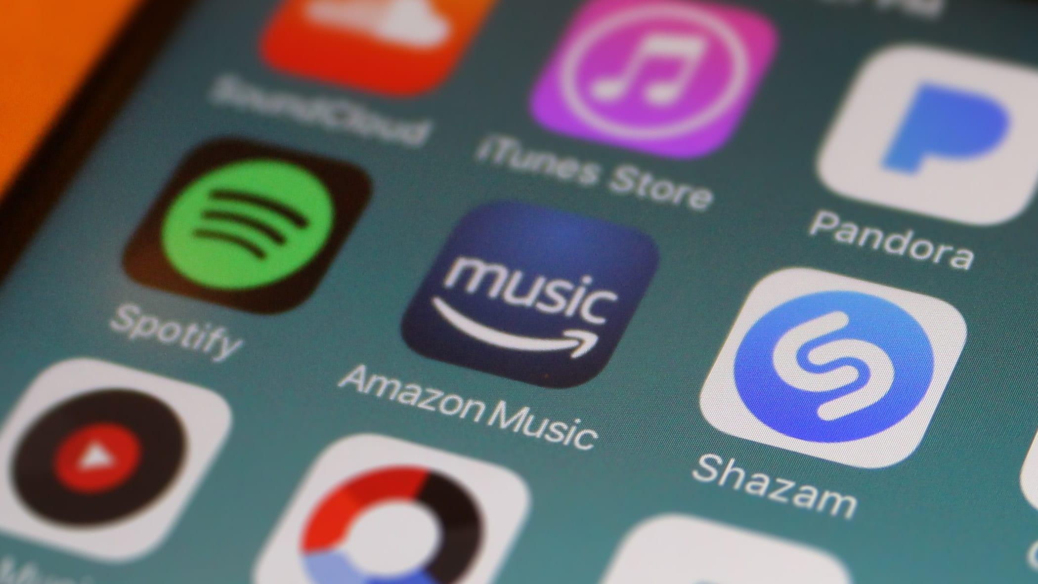 Amazon Music no iOS