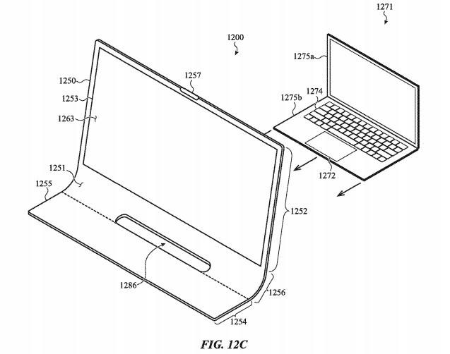 Patente de iMac de vidro