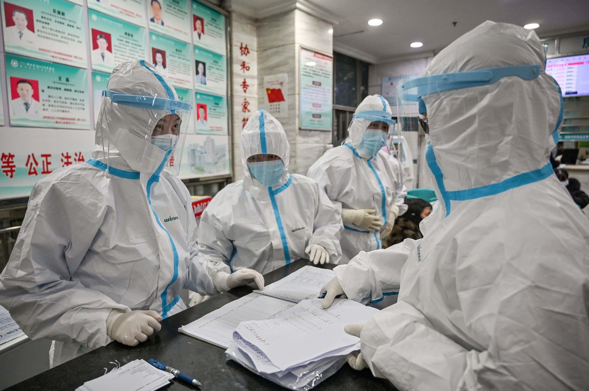 Agentes de saúde na China