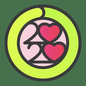 """Adesivos para o iMessage do desafio do """"Mês do Coração"""""""
