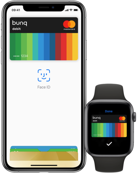 Bunq no Apple Pay