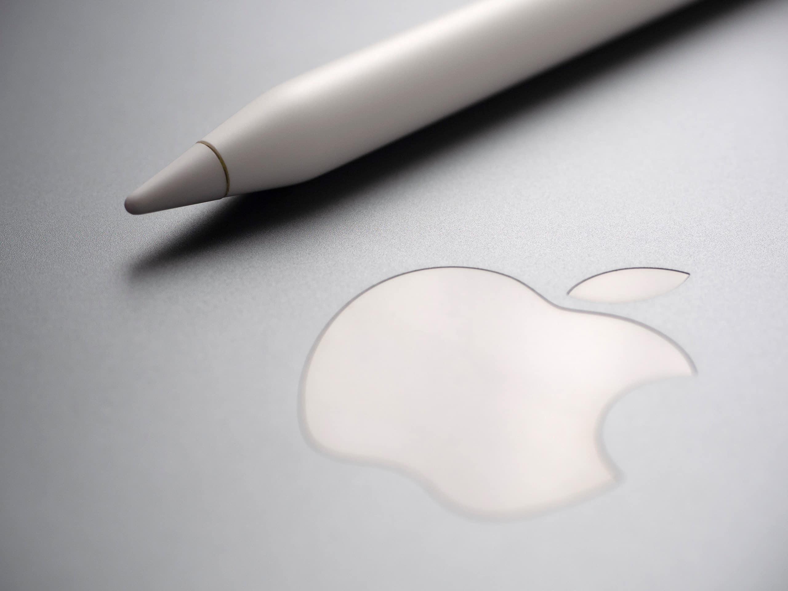 Logo da Apple com Pencil