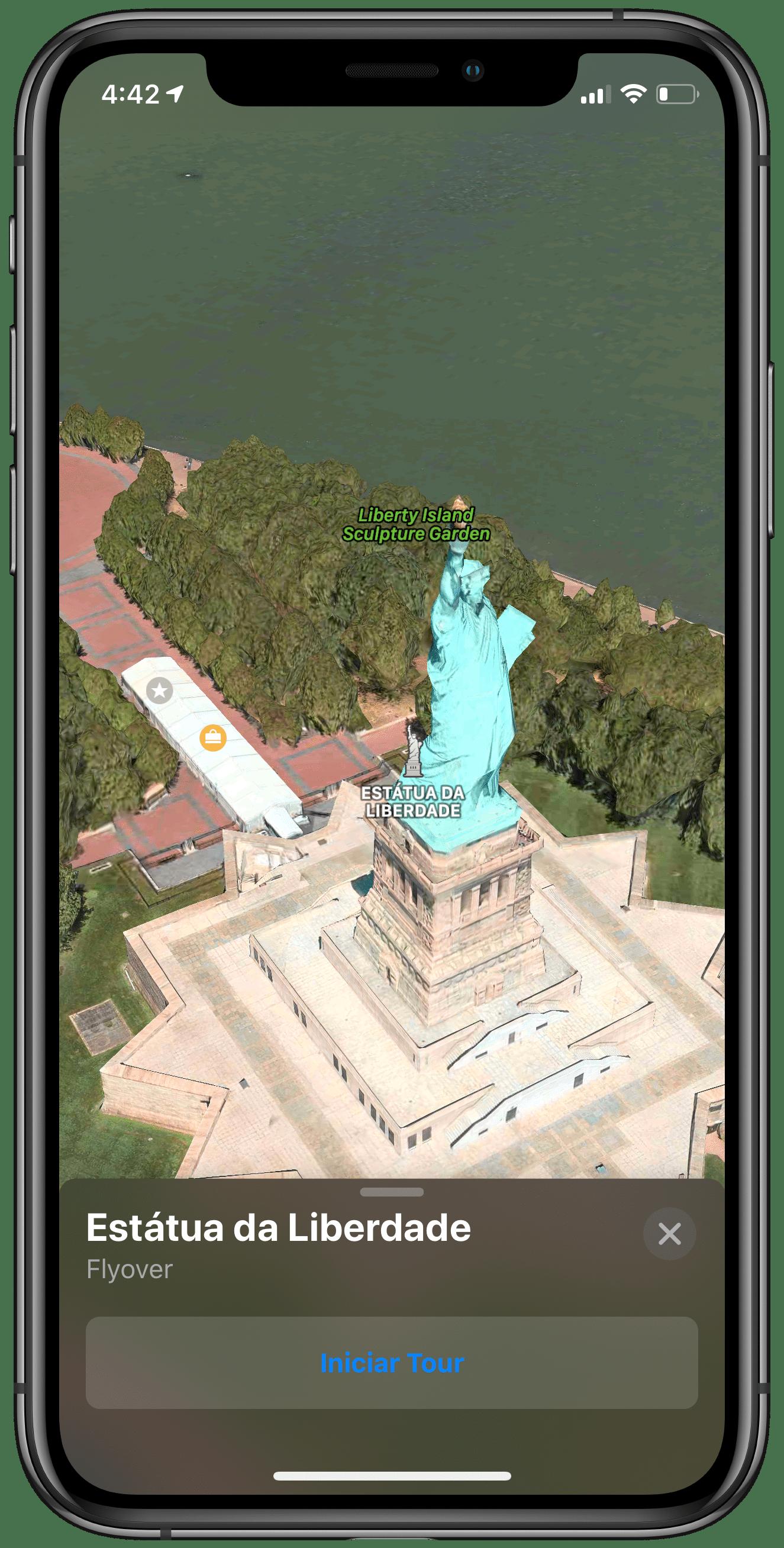Flyover no Apple Maps