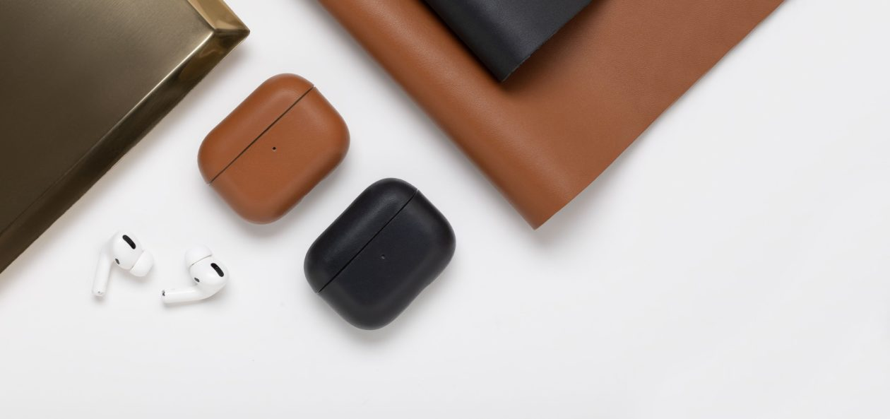 Case de couro para AirPods da Native Union