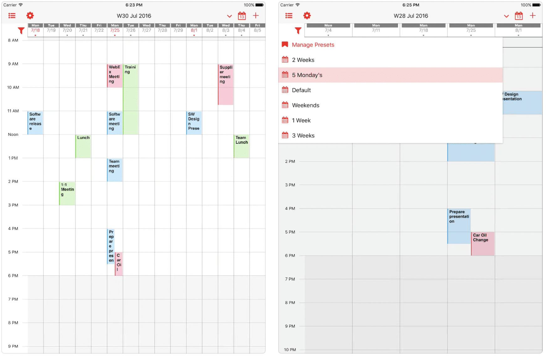 Specials of the day on the App Store: Week Calendar Pro, Sobotta Anatomy Atlas, Focus & ...