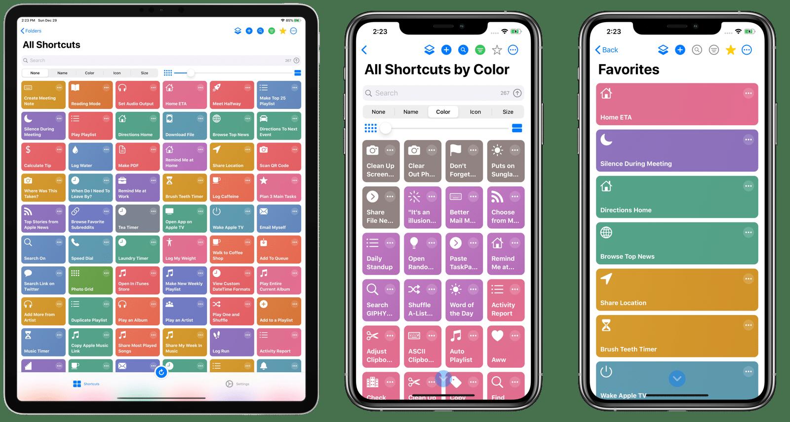 LaunchCuts, organizador de Atalhos para iOS