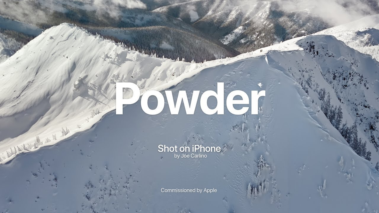 "Comercial da campanha ""Shot on iPhone"""