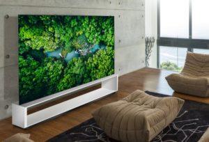 Novas TVs 8K da LG