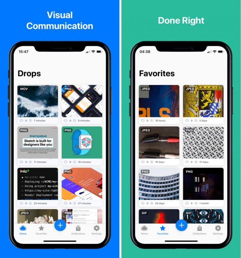 CloudApp para iOS