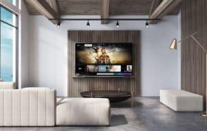 TV da LG com o app Apple TV