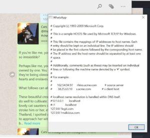 Falha de segurança no WhatsApp Desktop