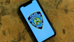 App NYPD no iPhone