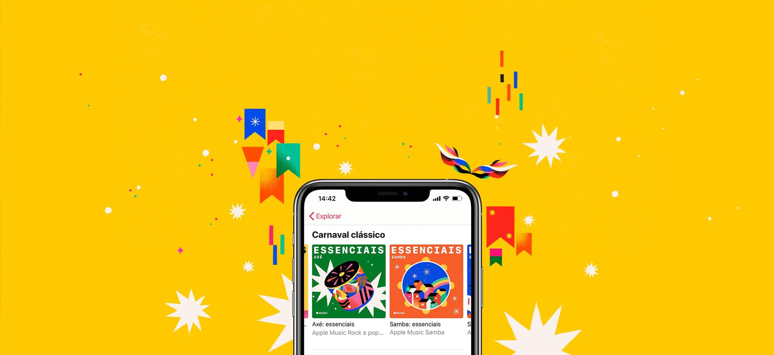 Apple Music no Carnaval 2020