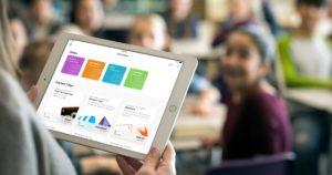 iPad em escola