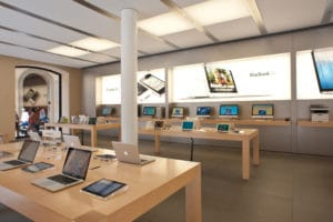 Macs em Apple Store