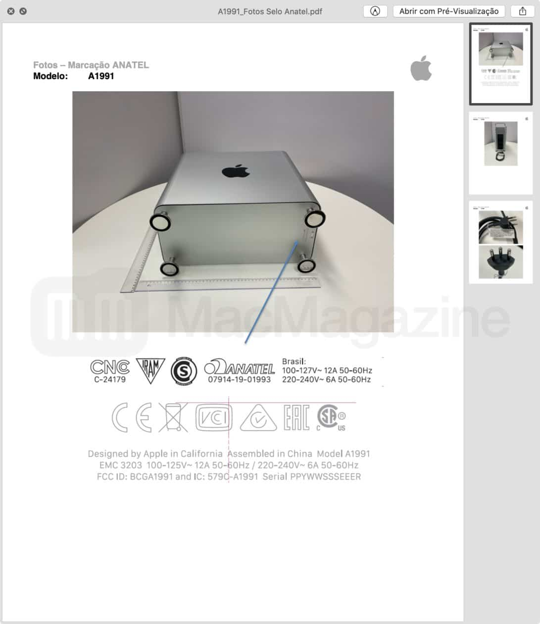 Anatel - Mac Pro