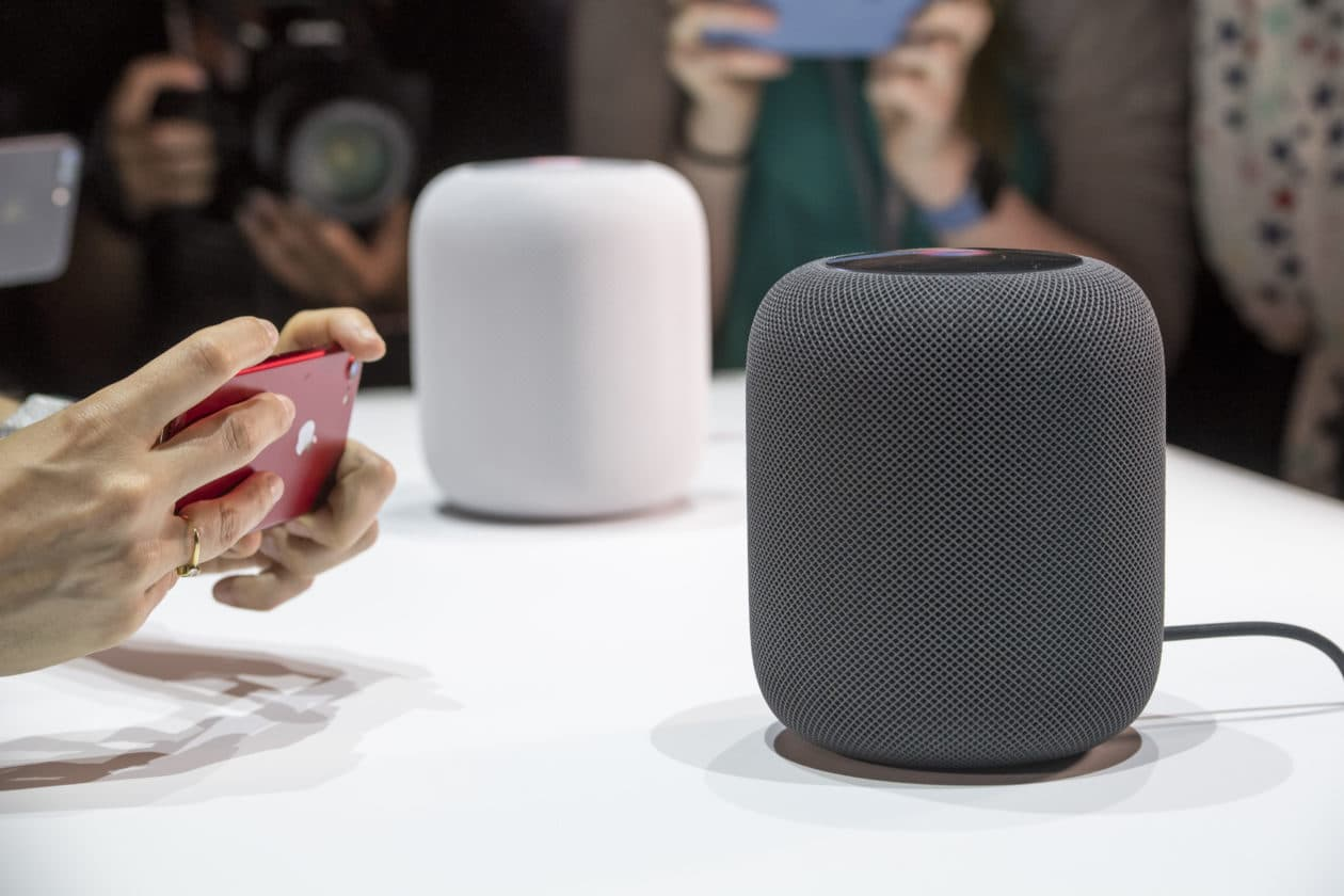 HomePods sales grow, but remain well behind those of competitors
